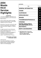 2009 Service Highlights