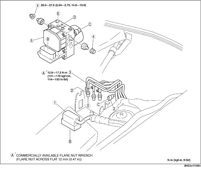 mazda 3 steering angle sensor