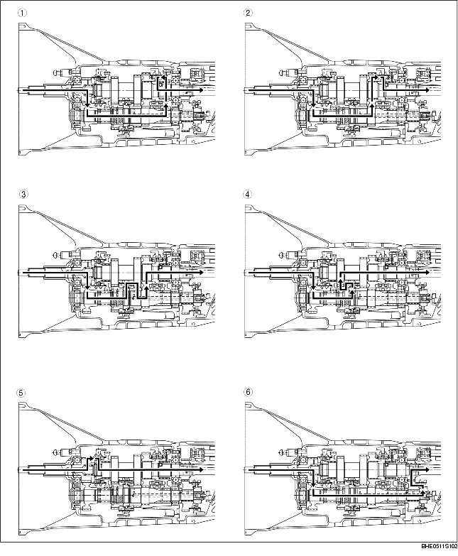 Manual Transmission Power Flow Y16m D