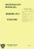 1972 RX-3 Engine Manual