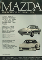 1984 Sports Car Buyers Bulletin