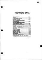 1986 Technical Data
